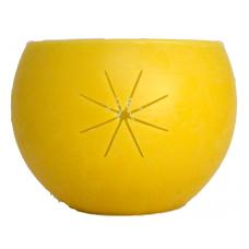 Emīlijas Bišu Vasks bišu vaska lukturis kartona kastītē Saule, 14cm