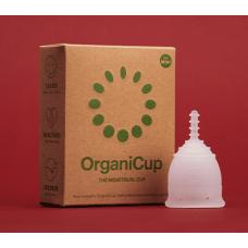 OrganiCup menstruālā piltuve, izmērs Mini, 1gb.+ maisiņš