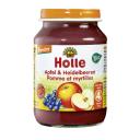 Holle BIO ābolu un melleņu biezenis no 4 mēn., 190g
