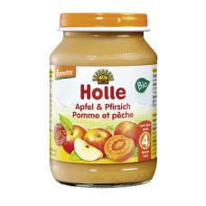 Holle BIO ābolu un persiku biezenis no 4 mēn., 190g