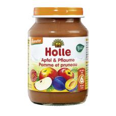 Holle BIO ābolu un plūmju biezenis no 6 mēn., 190g