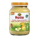 Holle BIO cukini, ķirbju un kartupeļu biezenis no 6 mēn., 190g