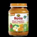 Holle BIO dažādu dārzeņu biezenis zīdaiņiem 6 mēn., 190g