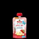 """Holle BIO augļu biezenis ar banāniem un bumbieriem """"Apple Ant"""" no 6mēn., 100g"""