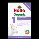 Holle BIO Formula 1 mākslīgais kazas piena maisījums zīdaiņiem no dzimšanas, 400g