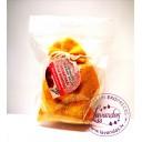 """Baltic Gift Factory aromātiskās koka bumbiņas lina maisiņā """"Sarkanā roze"""", 5 gb."""
