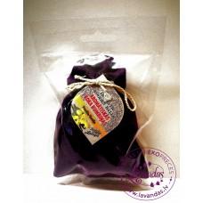 """Baltic Gift Factory aromātiskās koka bumbiņas lina maisiņā """"Vaniļa"""", 5 gb."""