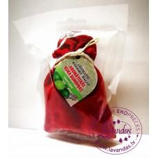 """Baltic Gift Factory aromātiskās koka bumbiņas lina maisiņā """"Laims"""", 5 gb."""