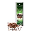 Cavalier tumšā šokolāde (85%) ar kakao gabaliņiem bez cukura, ar stēviju, 40g