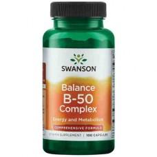 Swanson uztura bagātinātājs B vitamīnu komplekss, N100