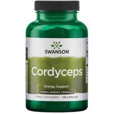 Swanson uztura bagātinātājs Kordiceps (Cordyceps), 120 kaps.