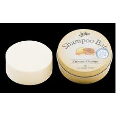 Jolu cietais šampūns / šampūnziepes ar citronu un apelsīnu, 10g