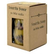 Emīlijas Bišu Vasks bišu vaska smaržu svece ar anīsu