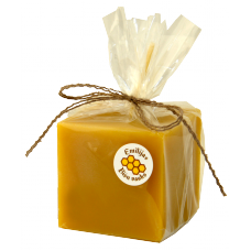 Emīlijas Bišu Vasks bišu vaska kantainā svece 45x45 mm