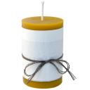 Emīlijas Bišu Vasks  bišu vaska cilindra svece 70x100 mm