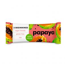 The Beginnings proteīna batoniņš ar papaiju, 40g