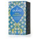 Pukka BIO tēja kumelīšu Three Chamomile, 20pac.