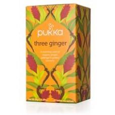 Pukka BIO tēja ingvera Three Ginger, 20pac.