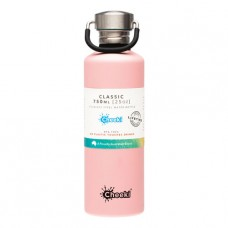 Cheeki tērauda ūdens pudele Pink, 750ml