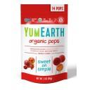 YumEarth BIO ledenes uz kātiņa ar dažādu augļu un ogu garšu 4 veidi, 85g/14gab.
