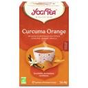 Yogi Tea BIO tēja ar kurkumu, apelsīnu un vaniļu, 17pac./34g