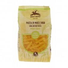 "Alce Nero BIO bezglutēna kukurūzas un rīsu pasta / makaroni ""Fusilli"", 250g"