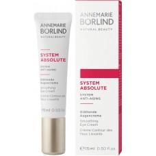 Annemarie Borlind Anti Aging System Absolute nostiprinošs krēms ādai ap acīm, 15ml
