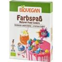 Bio Vegan BIO dabīgās pārtikas krāsvielas, 6 krāsas x 8g