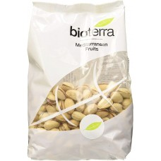 Bioterra BIO grauzdētas pistācijas ar sāli, 100g