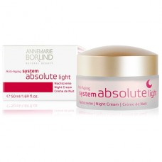 Annemarie Borlind Anti Aging System Absolute Light nakts krēms, 50ml