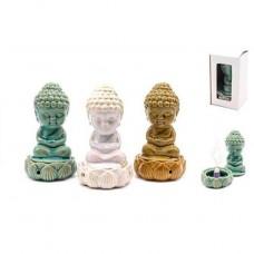 Esotericarte smaržkociņu un konusu turētājs Buddha, dažādās krāsās