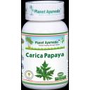 Planet Ayurveda uztura bagātinātājs Carica Papaya (ar papaijas lapu ekstraktu), 60kaps.