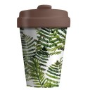 Chic Mic BambooCup bambusa krūze Green Leaves, 400ml