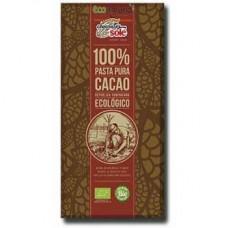 Chocolates Sole BIO 100% melnā šokolāde, 100g