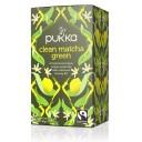Pukka BIO tēja - zaļās un mačas tējas ar citronu maisījums, 20pac.