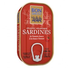 Bon Appetit sardīnes tomātu mērcē, 120g