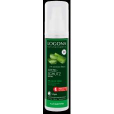 Logona mitrinošs līdzeklis matu aizsardzībai pret karstuma iedarbību ar bio alveju, 150ml