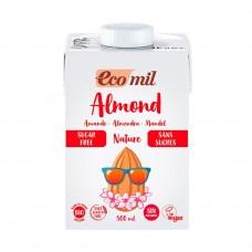 Ecomil BIO bezglutēna mandeļu dzēriens bez cukura, 500ml