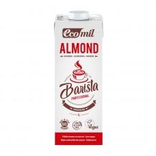Ecomil BIO bezglutēna baristas mandeļu dzēriens ar zemu cukuru saturu, 1l