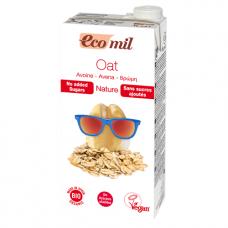 Ecomil BIO auzu dzēriens bez cukura, 1l