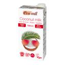 Ecomil BIO bezglutēna kokosriekstu piena dzēriens bez cukura, 1l