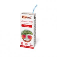 Ecomil BIO bezglutēna kokosriekstu dzēriens bez cukura, 200ml
