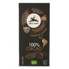 Alce Nero BIO 100% kakao šokolāde, 50g