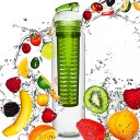 Do Your Fitness FruitBottle BPA FREE sporta ūdens pudele ar kapsulu Zaļa, 800ml
