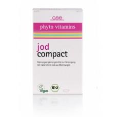 GSE Vertrieb Phyto Vitamins BIO jods, uztura bagātinātājs, 120 tabl.