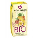"Hollinger BIO negāzēts multaugļu sulas dzēriens ""Multi Sunrise"", 0,2l"