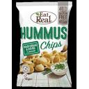 Eat Real humusa čipsi ar krējuma un maurloku garšu, 45g