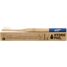 Hydrophil bambusa zobu birste pieaugušajiem, mīksta (Soft), zila