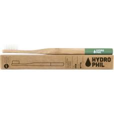Hydrophil bambusa zobu birste pieaugušajiem, vidēji mīksta (Medium), zaļa