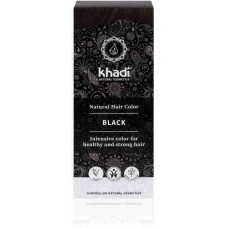 "Khadi augu izcelsmes matu krāsa ""Black"", 100g"